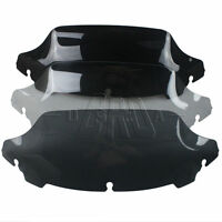 "7"" Smoke/Clear/Black Wave Windshield Windscreen for Harley Touring FLHT FLHX 14+"