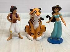 Princess Jasmine PVC 3.5 Disney Aladdin Figure  Rajah Raja Tiger Cake Topper