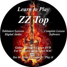 ZZ Top Guitar TABS Lesson CD 70 Songs + Backing Tracks + BONUS!!