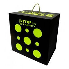 Stop'In Target - Cible Cube 50x50x35 cm - Pour arc traditionnel ou à poulies