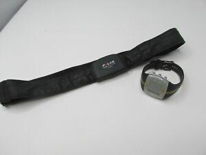 D2 Polar FT7 Fitness Watch Heart Rate/Training Sensor Black & Gold needs battery