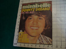 mirabelle Aug 1973-Donny'S Dreams we tell all,