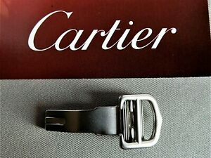 Genuine Cartier  18mm Stainless Steel Deployment Men's Buckle NEW  ROADSTER ETC.