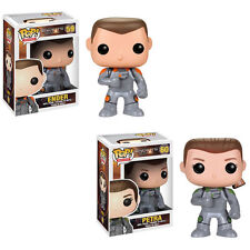 Funko POP! Movies - Vinyl Figures - Ender's Game - SET OF 2 (Ender & Petra) -New