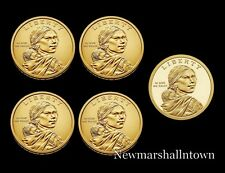 2020 P+D+S Native American Sacagawea Mint Proof Set ~ Pos A+B from Mint Rolls
