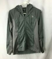 The North Face Women's Gray Heather Full Zip Jacket Sweatshirt Size Small
