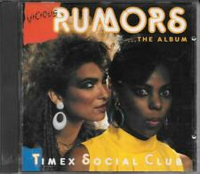 "TIMEX SOCIAL CLUB - RARO CD FUORI CATALOGO 1986 "" VICIOUS RUMORS """