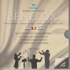 D. Benelux  Euroset 2010  -  Nationalhymnen  - ohne CD !   OVP