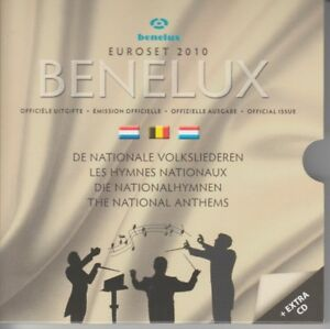 De La Benelux Euroset 2010 - Nationalhymnen - Sans CD ! Emballage D'Origine