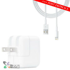 Original Genuine Apple iPad Pro 9.7 10.5 12.9 AC WALL CHARGER Lightning Cable
