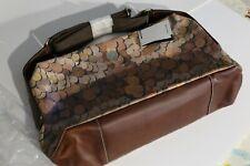 Paul Smith mens print leather shoulder / laptop bag. Exceptional quality Vintage
