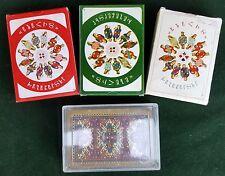LOT OF 4 ARMENIAN NATIONAL DECK PLAYING CARD ARMENIA PLASTIC VERY RARE CARDS