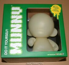 Kidrobot Munny Do It Yourself Vinyl Figure Glow In The Dark Toy 6 Inch Tristan