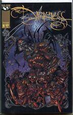 Darkness 1996 series # 8 A signed Benitez near mint comic book