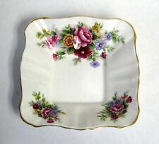 Vintage Royal Albert Bone China Chelsea Garden Dish Tray