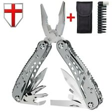Multi Tool Pocket Knife Pliers Multitool Swiss Army Survival Gift Idea Mens