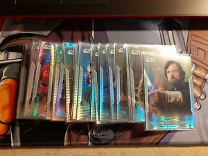 Topps Star Wars Chrome Perspectives 2020 Prism Bulk Lot All # to 299 26 Cards