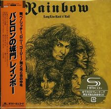 DIO - RAINBOW LONG LIVE ROCK & ROLL SHM 2CD REMASTERED DELUXE EDITION - JAPAN!