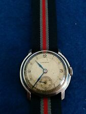 Vintage Longines Art deco watch. Rare pre WW2 era 1935