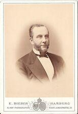 E. Bieber CAB Photo grana fine signor-Amburgo 1870er