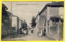 cpa RARE 32 - Village de PLAISANCE du GERS Rue des PYRÉNÉES Boulangerie DOMERCQ