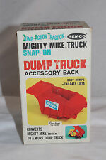 1960's Remco Battery Operated Might Mike Truck Dump Body  Back, Boxed