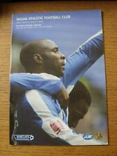 06/08/2005 Wigan Athletic v Boavista [Friendly] (No apparent faults).