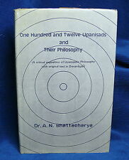 One Hundred and Twelve Upanisads and their Philosophy Dr.Bhattacharya 112 Book