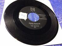 "THE BEATLES (7"" SINGLE) PLEASE PLEASE ME [ORIG US PRESSUNG *1964 VEE JAY 581]RAR"