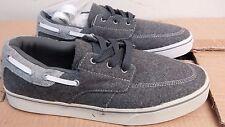 Radii Boat shoe style charcoal wool men's size 8