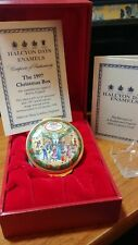Halcyon Days Enamels 1997 Christmas Box
