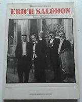 LIBRO: ERICH SALOMON - MAESTRI DELLA FOTOGRAFIA - A.MONDADORI ED.