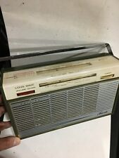 VINTAGE RADIO PHILIPS BANDS  MW(-AM)-LW + Continental Band Spread 1950s-1960s