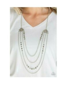 🦋Paparazzi Jewelry ~ PHAROAH FINESSE GREEN ~ Necklace Set