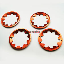 Red Alloy beadlock (outside) Wheel rim fit Rovan HPI KingMotor Baja 5B