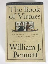 The Book of Virtues - Paperback By Bennett, William J. - 831 Pages- VERY GOOD