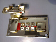 Replacement Hard Briefcase 3 Dial Combination Locks W/Rivets