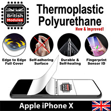 Apple iPhone X Thermoplastic Self Healing Soft HydroGel Film Screen Protector
