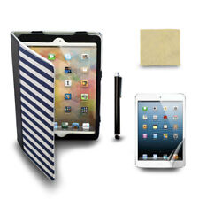 Black Cowboy Case Cover for The New iPad Mini Tablet + Screen Film + Stylus Pen