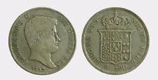 061) Napoli Regno delle Due Sicilie Ferdinando II - Piastra 120 Grana 1839