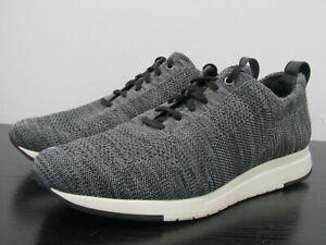 Vince Palo Men's Gray Knit Low Top Sneakers Size 12