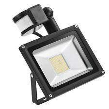 30W Warmweiß LED SMD Fluter Flutlicht mit Bewegungsmelder Außen Strahler IP65