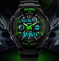 NEW Waterproof Quartz Digital Watch Men Sports Watches LED Military Wrist