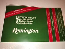 remington 522 viper owners manual