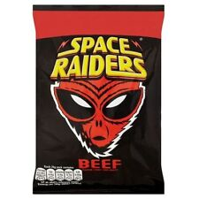 Space Raiders 20g box of 40 Packs BEEF FLAVOR Price Marked ONLY £10.89!