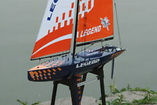NEW RC Legend Sailboat 900mm 6ft High Almost Ready to Run ARTR Remote Sail Boat