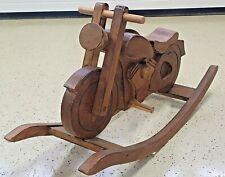 Schaukelpferd Motorrad Schaukelmotorrad Holz Spielzeug Holzspielzeug