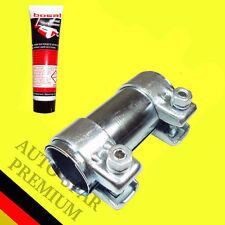 Auspuff Rohrverbinder Doppelschelle Universal Ø 55 x 125mm mit 60g Montagepaste
