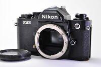 【Excellent++】Nikon NEW FM2 Black 35mm SLR Film Camera From Japan A211