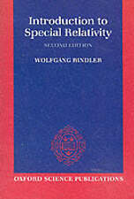 Introduction to Special Relativity by Wolfgang Rindler (Paperback, 1991)